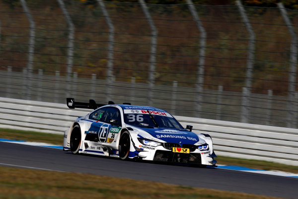 2017 DTM Round 9  Hockenheimring, Germany  Sunday 15 October 2017. Maxime Martin, BMW Team RBM, BMW M4 DTM  World Copyright: Alexander Trienitz/LAT Images ref: Digital Image 2017-DTM-HH2-AT3-1922