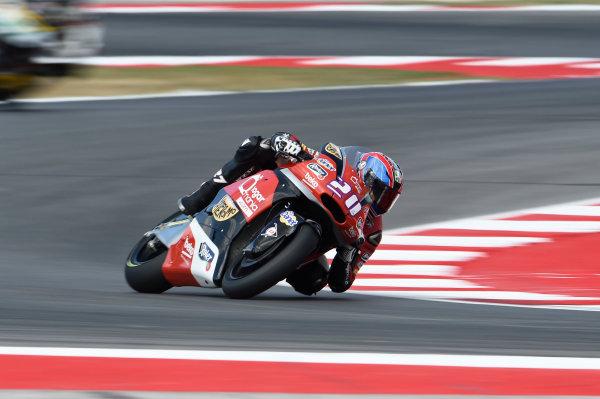 2017 Moto2 Championship - Round 13 Misano, Italy. Friday 8 September 2017 Joe Roberts, AGR Team  World Copyright: Gold and Goose / LAT Images ref: Digital Image 7484