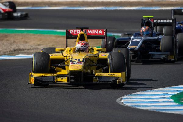 2017 FIA Formula 2 Round 10. Circuito de Jerez, Jerez, Spain. Saturday 7 October 2017. Norman Nato (FRA, Pertamina Arden).  Photo: Andrew Ferraro/FIA Formula 2. ref: Digital Image _FER1741