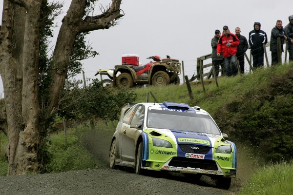 2006 FIA World Rally Champs. Round fifteenNew Zealand Rally.16th-19th November 2006.Marcus Gronholm, Ford, action.World Copyright: McKlein/LAT