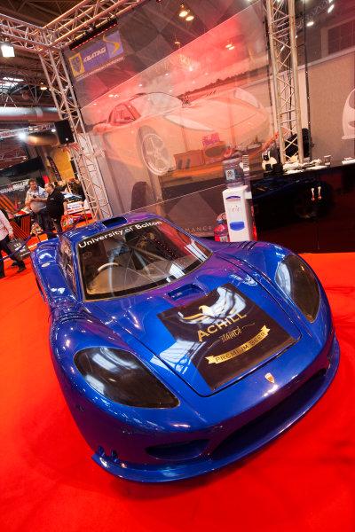 Autosport International Exhibition. National Exhibition Centre, Birmingham, UK. Friday 9 January 2015. The Keating Supercars stand. World Copyright: Edd Hartley/Jakob Ebrey/LAT Photographic. ref: Digital Image _MG_1941
