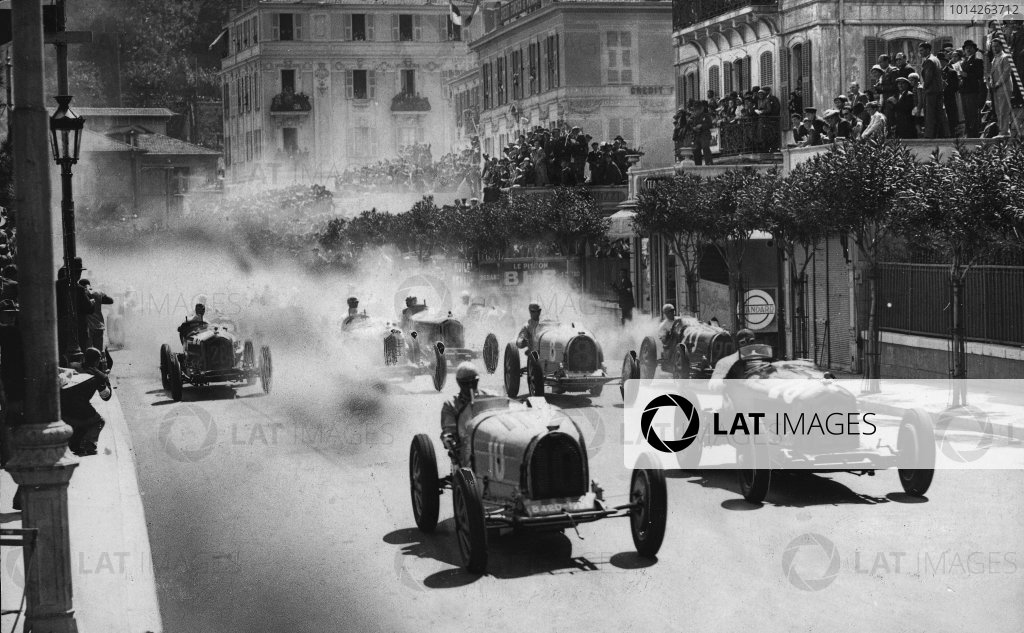 1933 Monaco Grand Prix.