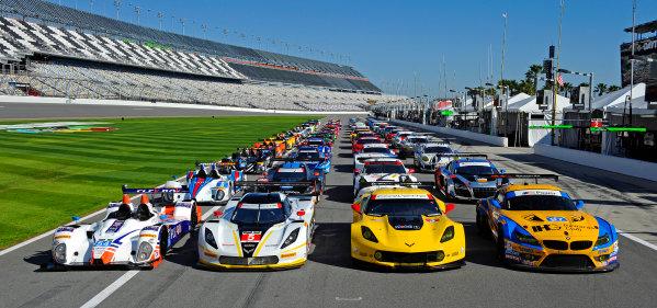 22-25 January, 2015, Daytona Beach, Florida USA 53rd Rolex 24 at Daytona full field. ?2015, F. Peirce Williams LAT Photo USA