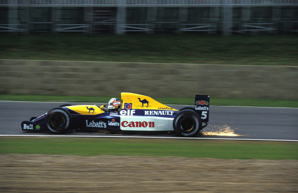 Nigel Mansell, Williams FW14 Renault.