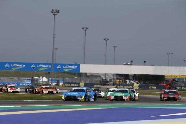 Start action, Robin Frijns, Audi Sport Team Abt Sportsline, Audi RS5 DTM leads.