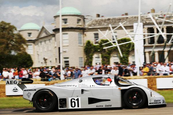 Kenny Acheson, Sauber Mercedes
