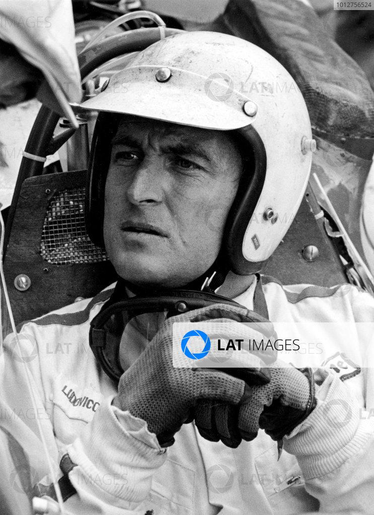 Formula One World Championship.Ludovico Scarfiotti (Ferrari).World Copyright - LAT Photographic