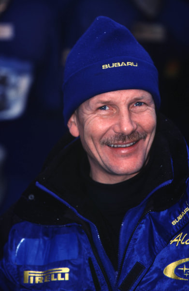 FIA World Rally ChampsMonte Carlo Rally10th-13th Febuary 2000.Juha Kankkunen (Subaru).World - LAT Photographic