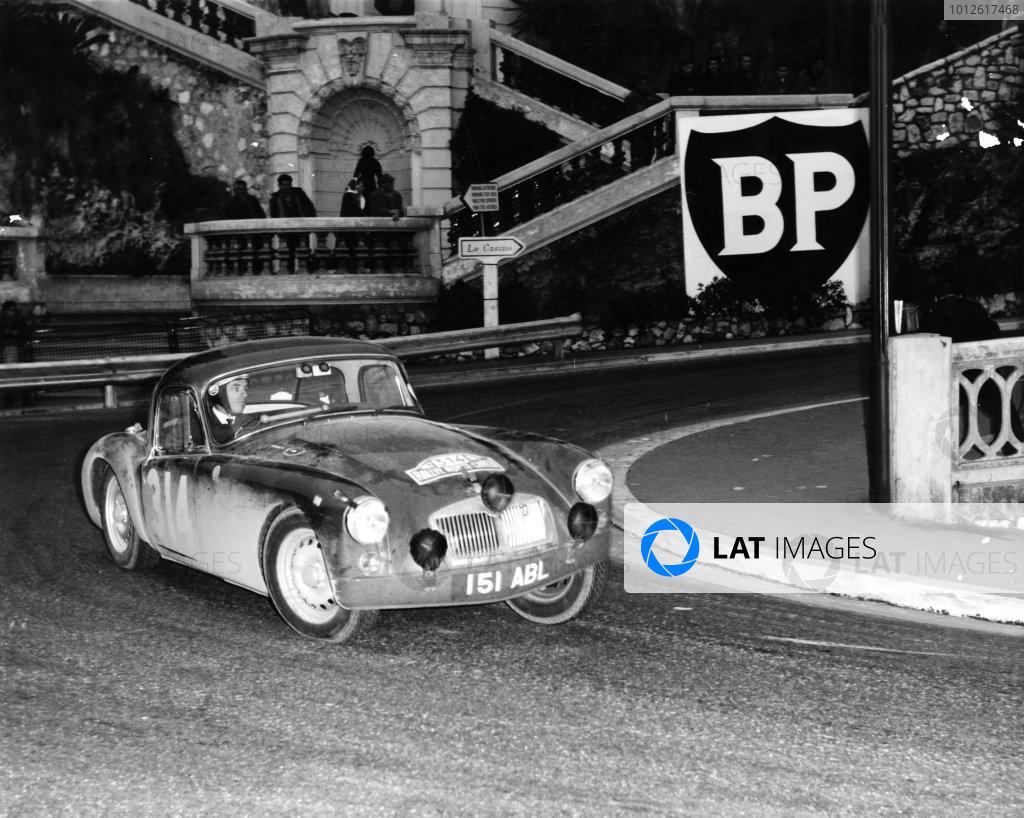 1962 Monte Carlo Rally.