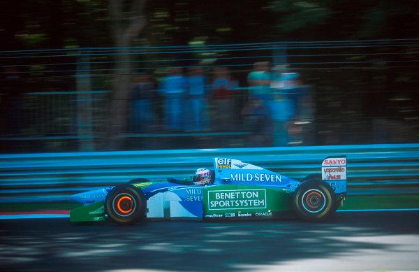 1994 Italian Grand Prix.Monza, Italy.9-11 September 1994.J J. Lehto (Benetton B194 Ford) 9th position.Ref-94 ITA 12.World Copyright - LAT Photographic