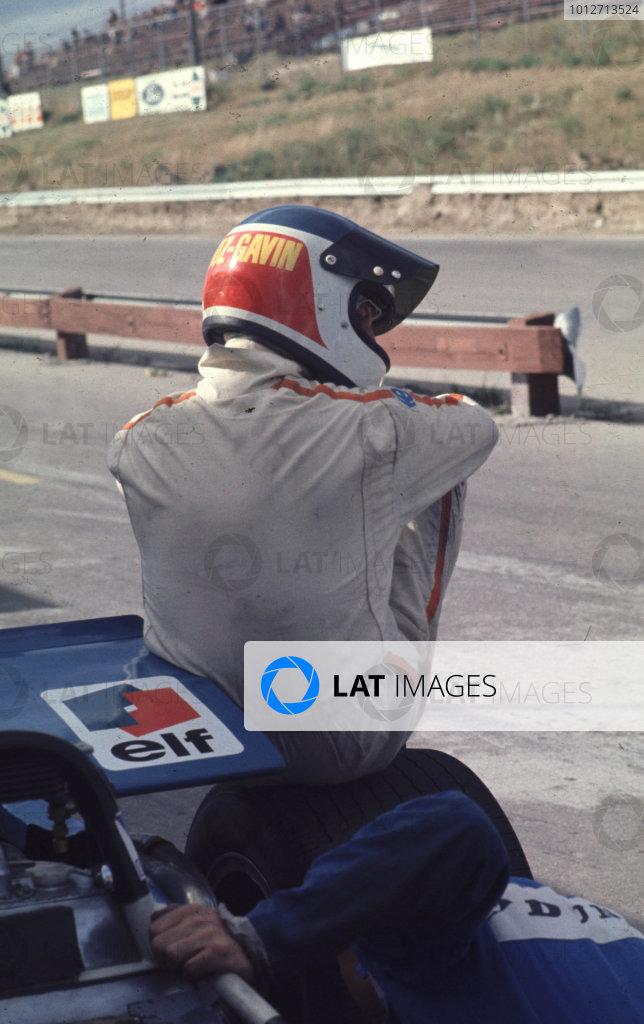 1969 Canadian Grand Prix.Mosport Park, Ontario, Canada.18-20 September 1969.Johnny Servoz-Gavin (Matra Ford) 6th position.World Copyright - LAT Photographic
