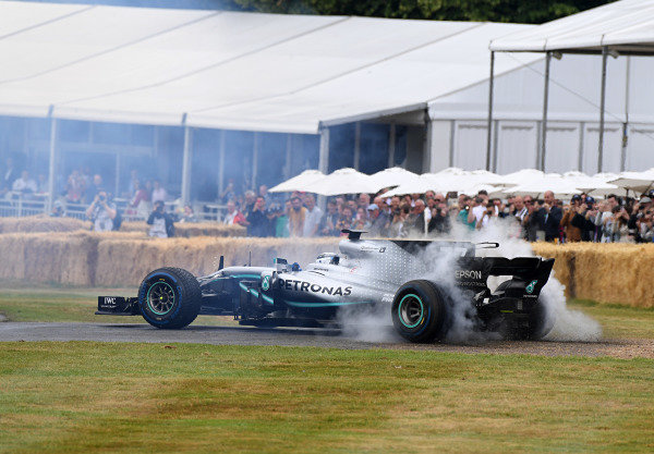 Mercedes -Benz F1 W08 Bottas
