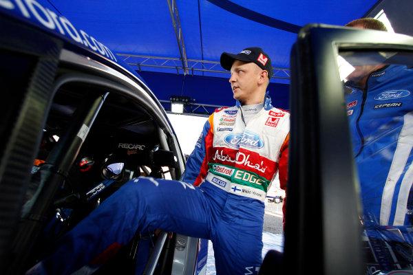 Round 09 - Rally Deutschland 18-21 August 2011.Mikko Hirvonen, Ford WRC, Portrait.Worldwide Copyright: McKlein/LAT