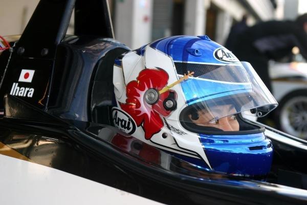Keiko Ihara (JPN) tests for Carlin Motorsport.General Testing, 12 November 2004, Silverstone, England.DIGITAL IMAGE