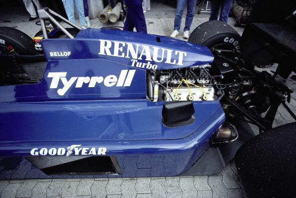 Stefan Bellof's Tyrrell 014 Renault.