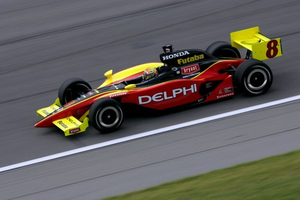 Scott Sharp (USA), Delphi Racing Panoz Honda, finished sixth.