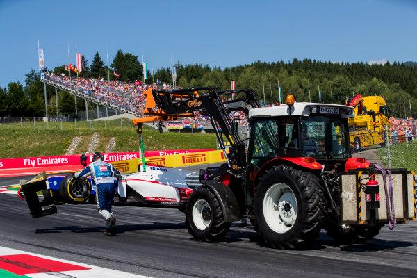2017 FIA Formula 2 Round 5. Red Bull Ring, Spielberg, Austria. Sunday 9 July 2017.Raffaele Marciello (ITA, Trident).  Photo: Zak Mauger/FIA Formula 2. ref: Digital Image _54I9949