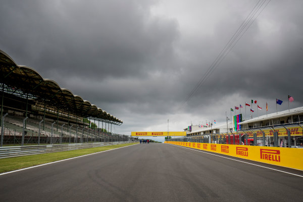 2017 FIA Formula 2 Round 7. Hungaroring, Budapest, Hungary. Thursday 27 July 2017. A view o the track. Photo: Zak Mauger/FIA Formula 2. ref: Digital Image _56I0048