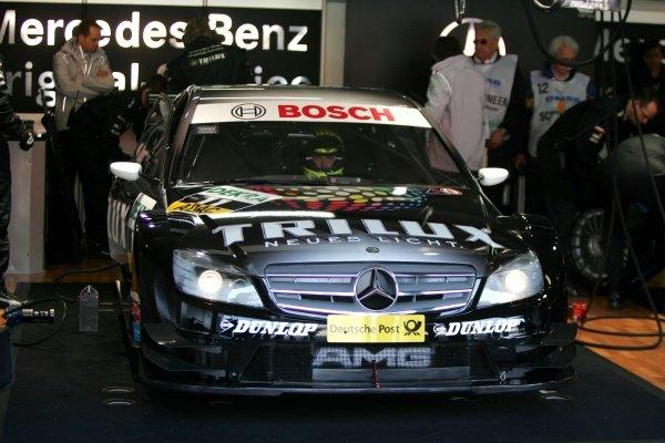 Ralf Schumacher (GER) Trilux AMG Mercedes  DTM, Rd 1, Hockenheim, Germany, 12-13 April 2008.