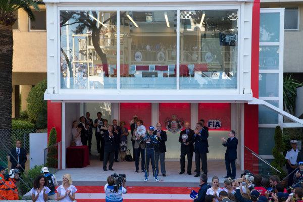 2014/2015 FIA Formula E Championship. Sebastien Buemi (SWI)/E.dams Renault - Spark-Renault SRT_01E  Monaco ePrix Race. Monaco ePrix, Monte Carlo, Monaco, Europe. Saturday 9 May 2015  Photo: Adam Warner/LAT/Formula E ref: Digital Image _L5R1441