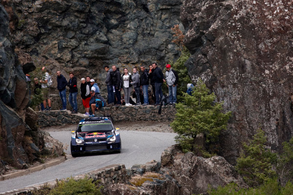 2015 World Rally Championship Round 11, Tour de Corse  1st - 4th October, 2015 Andreas Mikkelsen, VW, action  Worldwide Copyright: McKlein/LAT