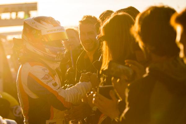 2015 British Touring Car Championship, Silverstone, Northamptonshire, England. 26th - 27th September 2015. Rob Collard (GBR) WSR BMW 125i M Sport.  World Copyright: Zak Mauger/LAT Photographic. ref: Digital Image _L0U4775