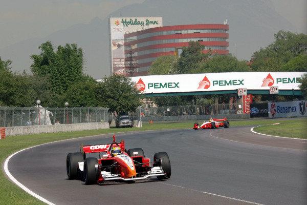 Justin Wilson (GBR) RuSPORT Champ Car World Series, Rd3, Tecate Grand Prix, Fundidora Park, Monterrey, Mexico, 19-21 May 2006. DIGITAL IMAGE