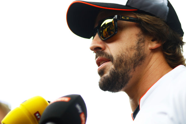 Sepang International Circuit, Sepang, Malaysia. Thursday 29 September 2016. Fernando Alonso, McLaren. World Copyright: Steven Tee/LAT Photographic ref: Digital Image _O3I9472