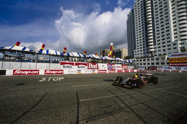 Christian Fittipaldi, Newman-Haas Racing, Swift 009.c Ford.