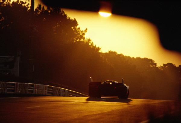 A Porsche 917K at dawn.