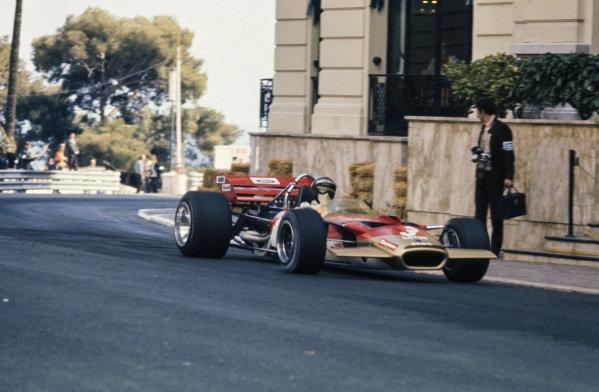 Jochen Rindt, Lotus 49C Ford.