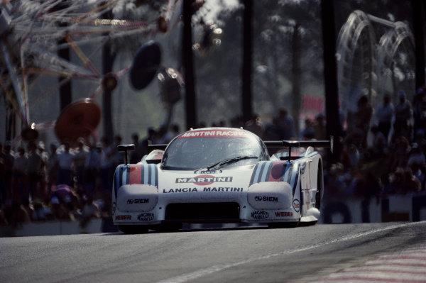 Bob Wollek / Alessandro Nannini, Martini Racing, Lancia LC2-84.