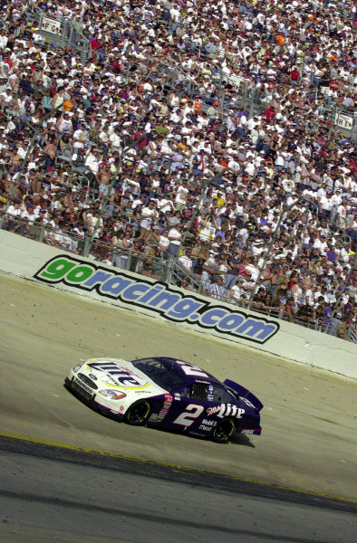 Rusty Wallace rides NASCAR's steepest banking to his 50th win.NASCAR Food City 500 at Bristol Motor Speedway (Tenn)26 March, 2000LAT PHOTOGRAPHIC