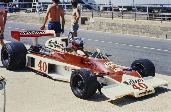 Gilles Villeneuve, McLaren M23 Ford.