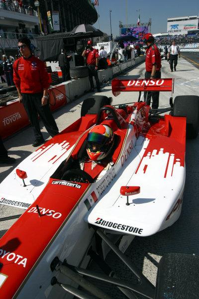 2002 Mexico City CART, 14-17 November, 2002, Autodromo Hermanos Rodriguez, Mexico.Roberto Gonzalez Jr in the Walker Racing car.-2002, Michael L. Levitt, USALAT Photographic