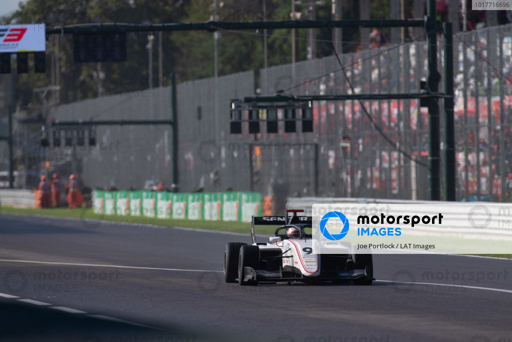 AUTODROMO NAZIONALE MONZA, ITALY - SEPTEMBER 08: Raoul Hyman (GBR, Sauber Junior Team by Charouz) during the Monza at Autodromo Nazionale Monza on September 08, 2019 in Autodromo Nazionale Monza, Italy. (Photo by Joe Portlock / LAT Images / FIA F3 Championship)