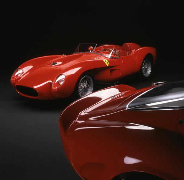 Ferrari 250 Testa Rossa Competizione 1958, and 250 GTO 1962