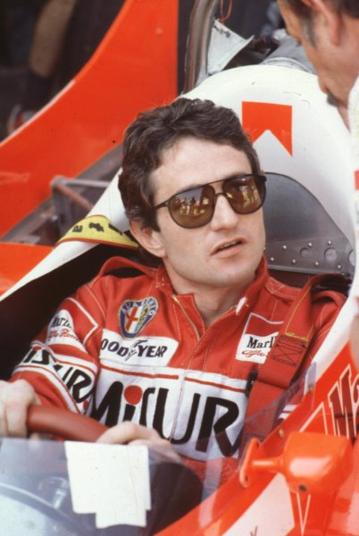 1980 Formula 1 World Championship.Patrick Depailler (Alfa Romeo).Ref-D2A 13.World - LAT Photographic