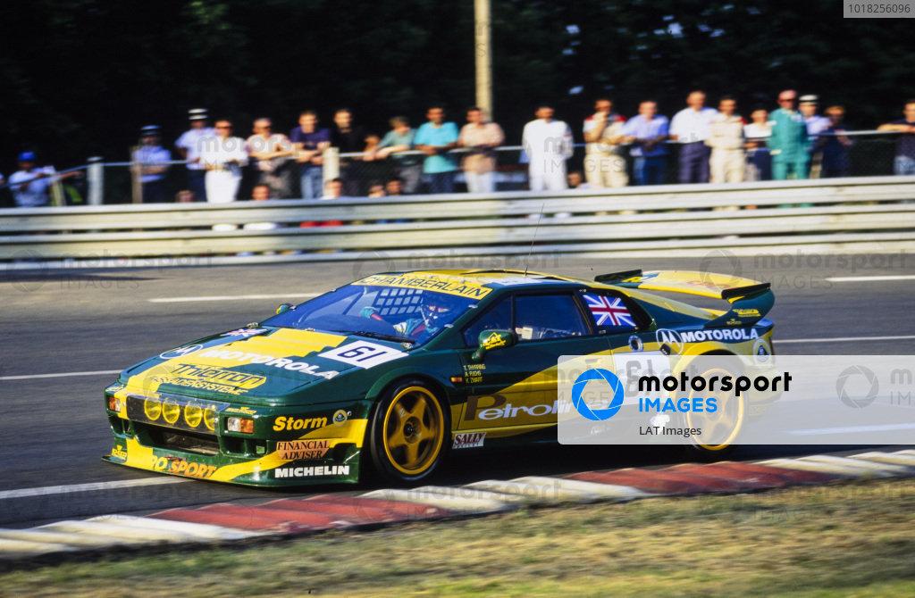 Thorkild Thyrring / Klaas Zwart / Andreas Fuchs, Lotus Sport / Chamberlain Engineering, Lotus Esprit S300 Turbo.