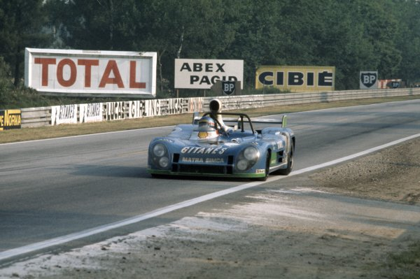 1974 Le Mans 24 hours.Le Mans, France. 15-16 June 1974.Henri Pescarolo/Gerard Larrousse (Matra-Simca MS670B), 1st position.World Copyright: LAT PhotographicRef: 35mm transparency 74LM03