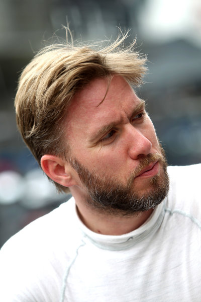 2016 Le Mans 24 Hours Test day, Le Mans, France. 5th June 2016. Nick Heidfeld - Rebellion Racing Rebellion R-One AER. World Copyright: Ebrey / LAT Photographic.