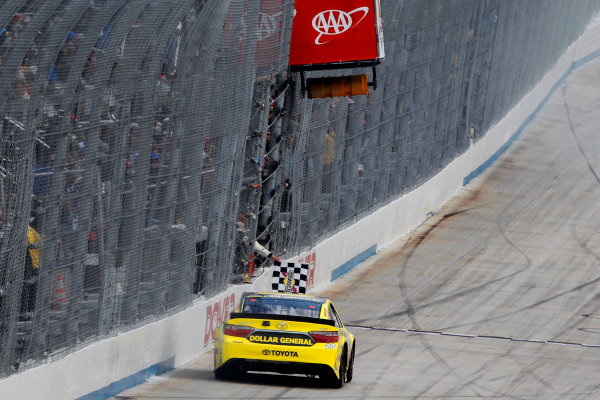 13-15 May, 2016, Dover, Delaware USA Matt Kenseth, Dollar General Toyota Camry celebrates his win  ?2016, Russell LaBounty LAT Photo USA