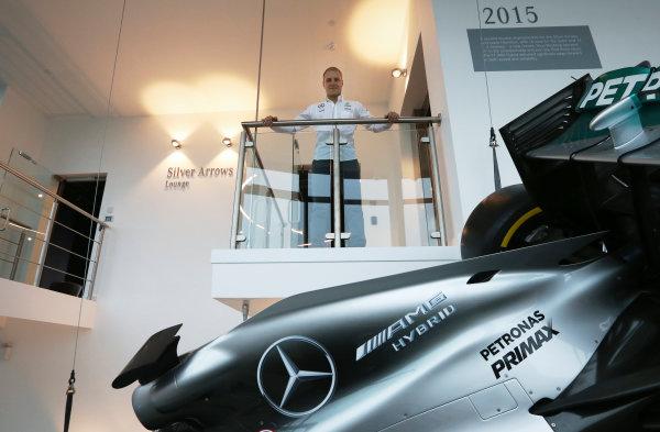 Mercedes F1 Driver Announcement Mercedes AMG Factory, Brackley, UK Monday 16 January 2017 Valtteri Bottas is announced as the new Mercedes AMG F1 driver for 2017. World Copyright: Steve Etherington/LAT Photographic ref: Digital Image EW4P2853