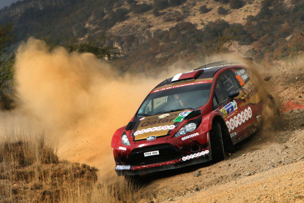 Nasser Al-Attiyah (QAT) / Mattieu Baumel (FRA) Ford Fiesta RS WRC at World Rally Championship, Rd3, Rally Mexico, Day Two, Leon, Mexico, 7 March 2015.