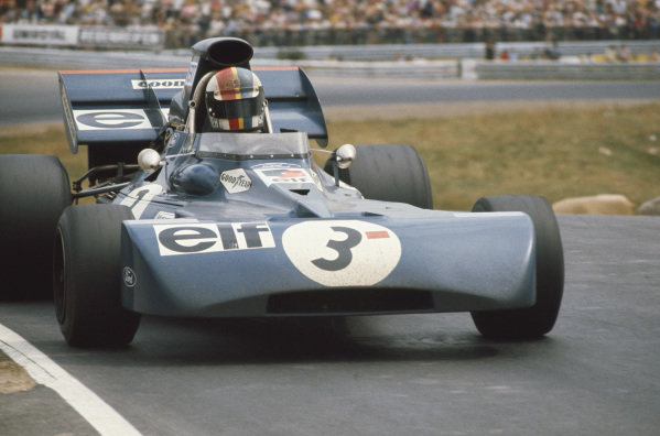 1971 German Grand Prix.  Nurburgring, Germany. 30th July - 1st August 1971.  François Cevert, Tyrrell 002 Ford, 2nd position.  Ref: 71GER15. World Copyright: LAT Photographic