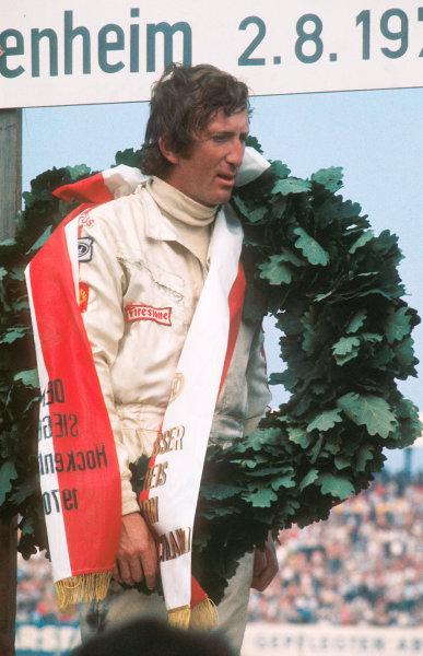 Hockenheim, Germany.31/7-2/8 1970.Jochen Rindt (Lotus Ford) 1st position.Ref-70 GER 08.World Copyright - LAT Photographic