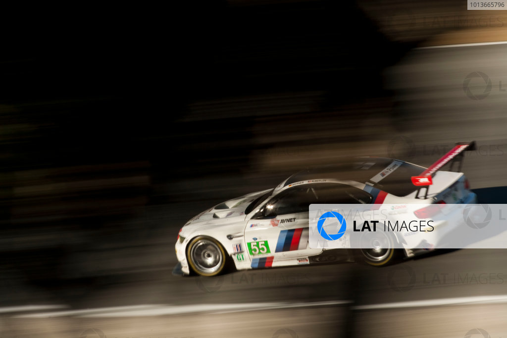 American Le Mans Series. Laguna Seca, Monterey, California. 15th - 17th September 2011. Dirk Werner / Bill Auberlen, BMW Team RLL, BMW E92 M3. Action. Photo: Drew Gibson/LAT Photographic. ref: Digital Image _Y8P4423