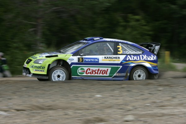 2007 FIA World Rally Champs. Round nineRally Finland.2nd-5th August 2007.Marcus Gronholm, Ford, action.World Copyright: McKlein/LAT