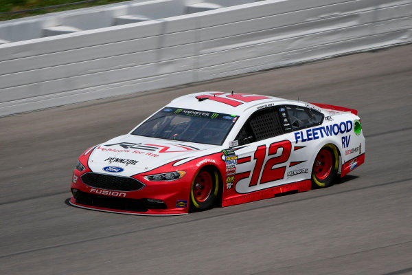 #12: Ryan Blaney, Team Penske, Ford Fusion REV Group