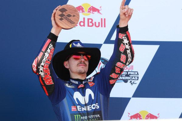 Podium: Maverick Viñales, Yamaha Factory Racing.